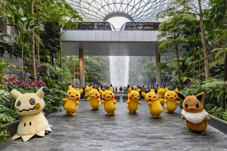 Jewel Changi Airport_Pokemon Parade_Dancing at the North Canyon_2