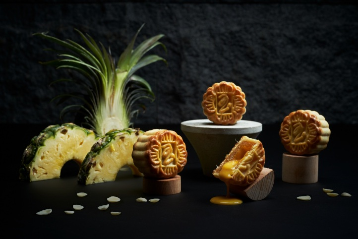 19 PJ NEW LAVE d'Ananas Yuzu Pineapple Almond Flakes Molten Lava $78.00nett for 8 pcs (mini).JPG