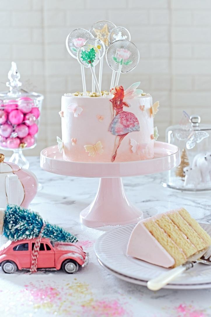 Whimsical Fairy Cake