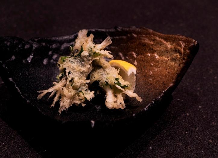 Shirauo tempura