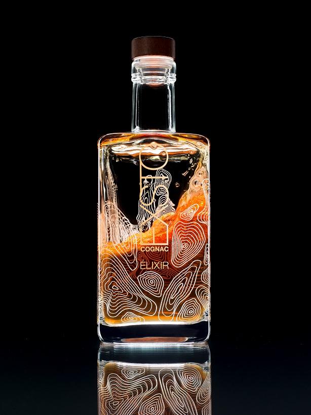 Exsto Elixir Bottle Swirled