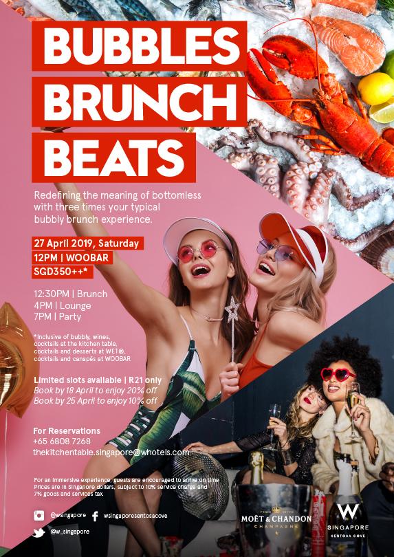 Brunch Bubbles Beats April 2019