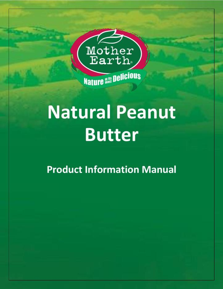 Mother Earth Peanut Butter Product Information-page-001