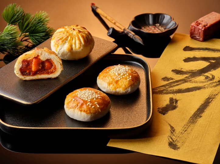 Baked Char Siew Buns